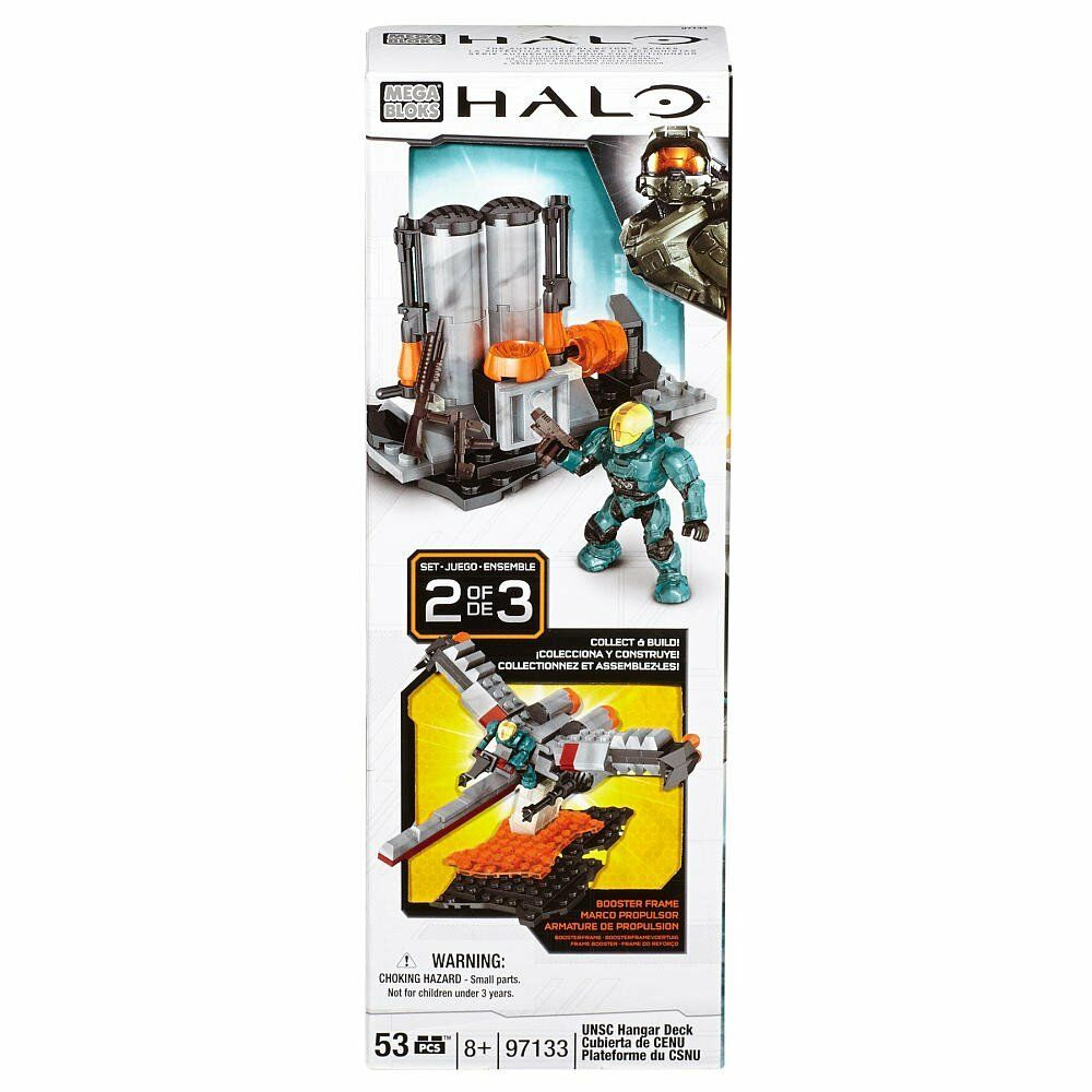 MEGA BLOKS HALO SETS BUILD AND COLLECT SETS HALO WAR BOOSTER FRAME CONSTRUCTION TOYS GAME c8a1bf