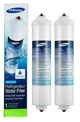 2 x Genuine Samsung DA29-10105J HAFEX//EXP Fridge Water Filter Cartridge