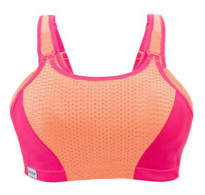 BRAND-NEW-Factory-Sealed-AUTHENTIC-Glamorise-SPORT-Bra-Ultra-Max-Support-Pink