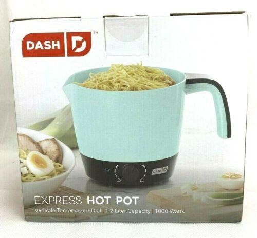 DASH DMC100AQ Express Electric Cooker Hot Pot with Temperature Control New