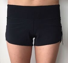 Lululemon Size 2 Speed Short Black BLK NWT turbo run shorts