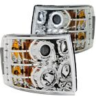 Headlight Assembly-Projector Clear Lens Chrome Right,Left Anzo 111199
