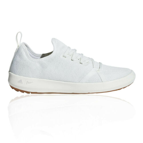 adidas Mens Terrex CC Boat Parley Walking Shoes White Sports Outdoors Breathable