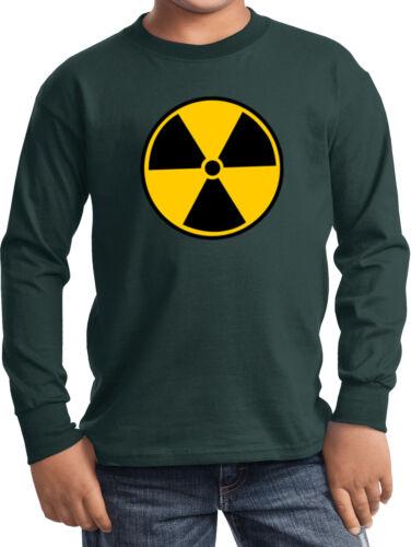 Buy Cool Shirts Kids Radiation T-shirt Radioactive Fallout Youth Long Sleeve
