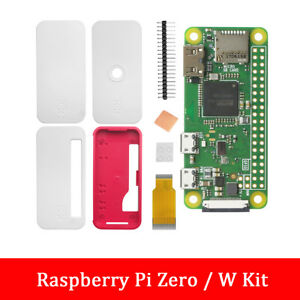 1GHz 512M RAB Official Raspberry Pi Zero Pi 0 1.3 Zero/W Kit Case + Heat-Sink