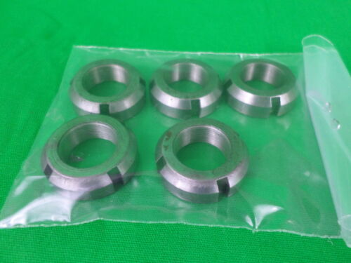 Lot of 5 N-03 Lock Nuts
