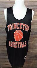 PRINCETON Basketball CHAMPION NCAA Practice Reversible Jersey Black VTG XXL B33