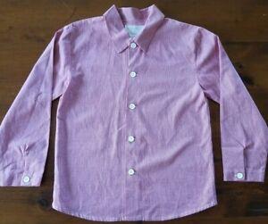 Strasburg-Boys-Button-Down-Shirt-Size-6Y