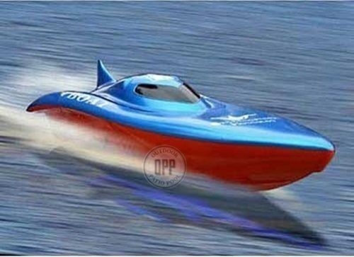 23  Balaenoptera Musculus Racing Boat *Colors May Vary*