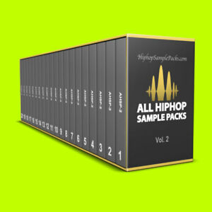 Details about Ultimate Hip Hop Sample Packs BUNDLE Vol  2 Over 3000 Sounds,  MPC FL ⭐️⭐️⭐️⭐️⭐️