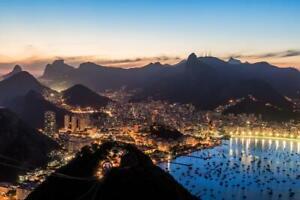 Rio-de-Janeiro-Brazil-Skyline-at-Twilight-Photo-Art-Print-Poster-24x36-inch
