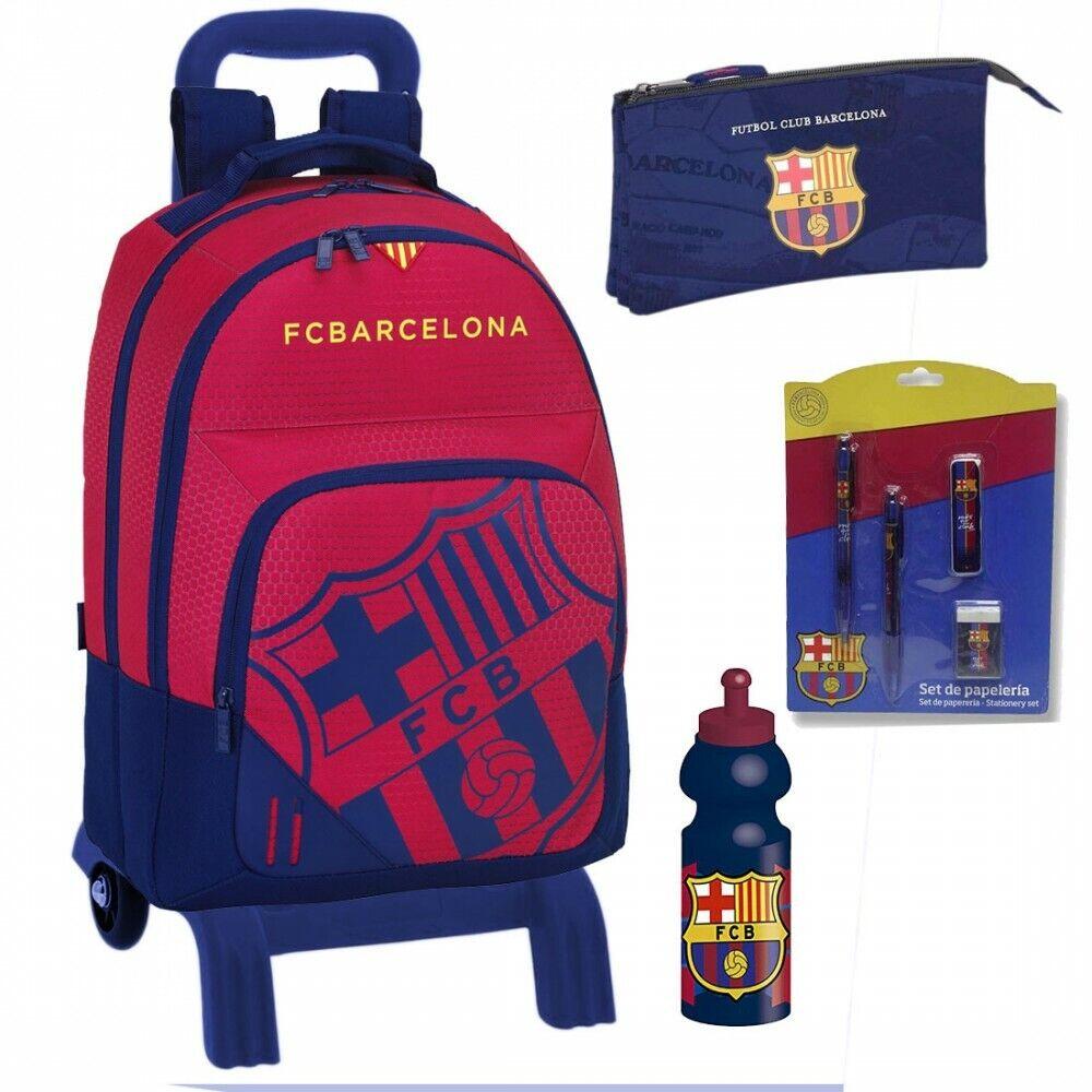 Mochila FC Barcelona Trolley 42cm Oficial School Backpack
