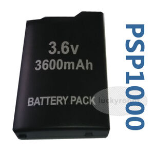 New-3600mAh-Rechargeable-Replacement-Battery-Pack-For-Sony-PSP-1000-1001-Black