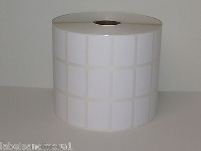 2x1 BLUE Direct Thermal Labels Shipping Barcode 1375 Labels P//R 6 Rolls