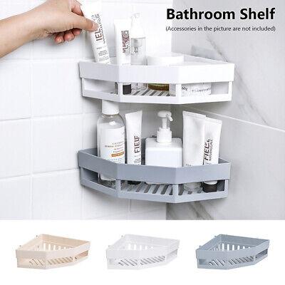 Charmant Details About Corner Storage Rack Holder Shelves Bathroom Organizer  Triangular Shower Shelf DS