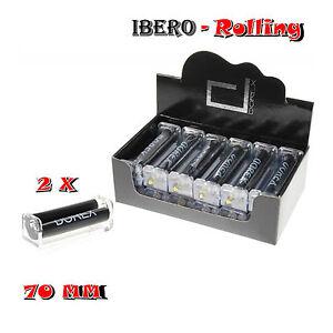 Liadora-Dorex-metacrilato-70-mm-2-x-maquinas-de-liar-Rolling-paper-machine