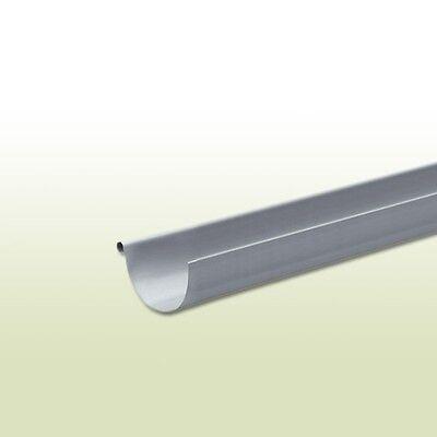 Fürs Dach Regenrinnen & Zubehör 1,5 Meter Aluminium Dachrinne Halbrund Rg 333 Mm Länge