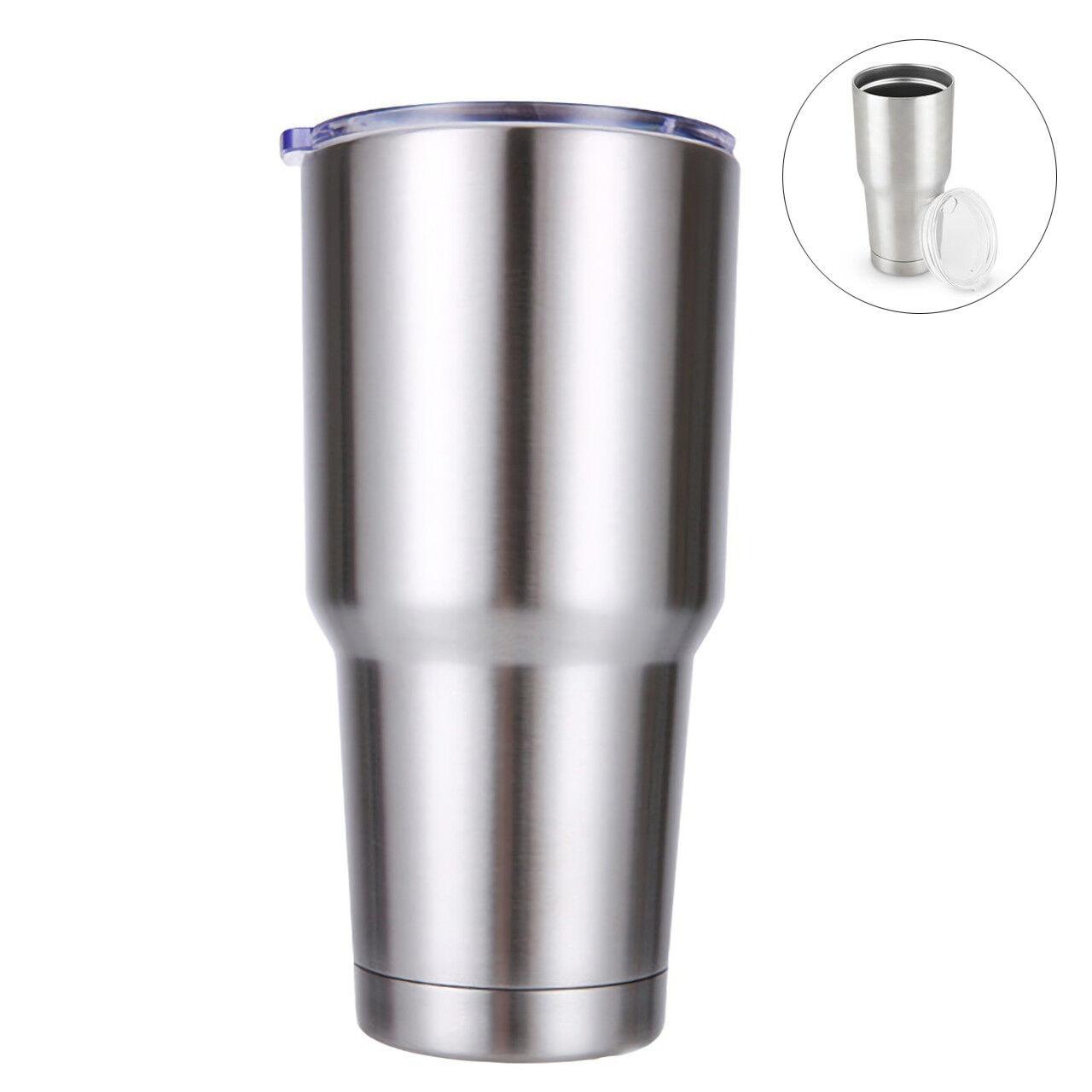 30 Oz Travel Mug Stainless Steel Tumbler Double Wall