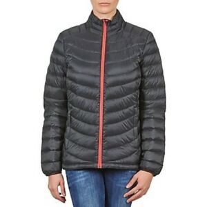 8f97a7cb6a71 SALOMON WOMENS HALO DOWN JACKET BLACK RED LIGHT LADIES MEDIUM CLIMA ...