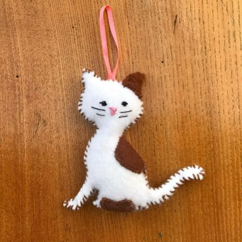 Handmade Felt Cat