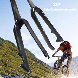 EC90-BMX-20-034-Matt-Glaenzend-Gabel-Fahrrad-Scheibenbremse-Starre-Carbon-Gabeln