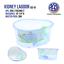 High-Plastic-Turtle-Lagoon-Kidney-Reptile-House-Terrarium-Habitat-w-Plant thumbnail 7
