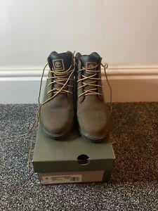 wysoka moda autentyczna jakość ograniczona guantity Details about Timberland Junior Leavitt Boots Size Uk 3.5 Medium brown