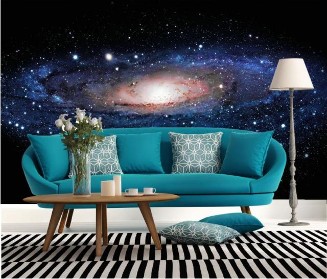 3D Blauer Galaktischer 577 Tapete Tapeten Mauer Foto Familie Tapete Wandgemälde