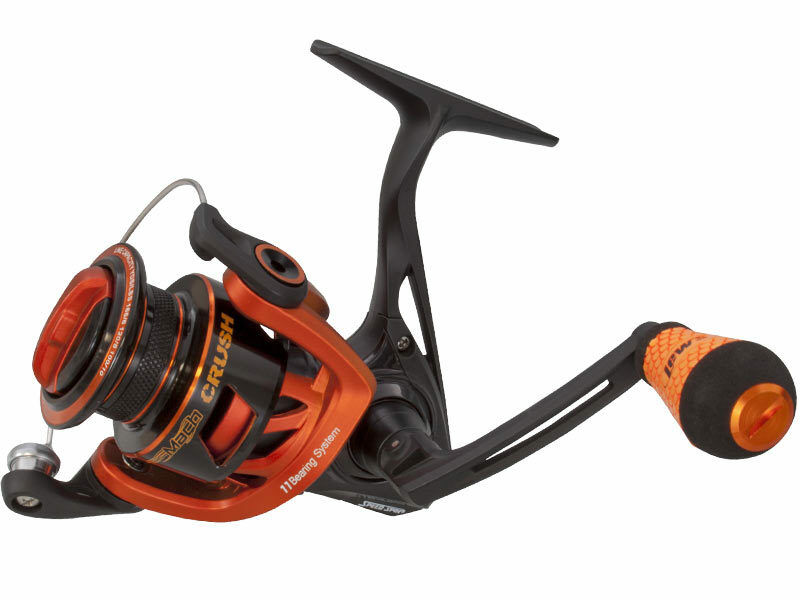 Lew's Mach Crush Metal Speed Spin Spinning Reels Tournament Bass Spinning Reel
