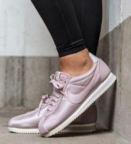 Mujeres Nike Classic Classic Classic Cortez Nylon Talla 6.5 EUR 40.5 (749864 605) rosado de partículas  seguro de calidad