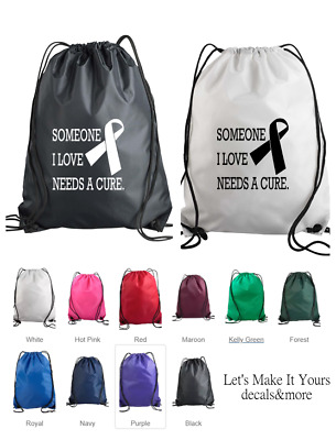 Pink the Cure Backpack Purse