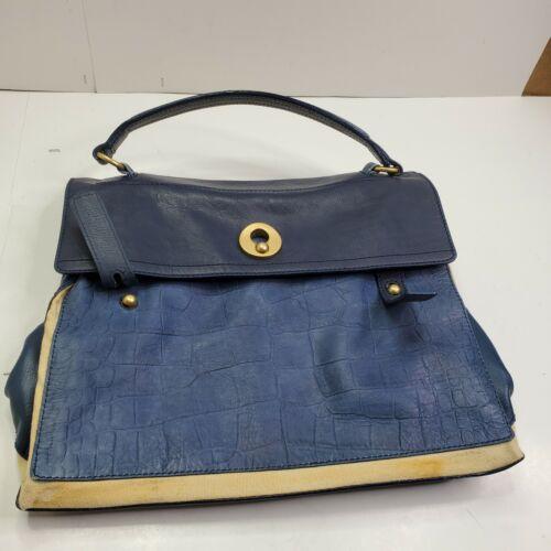 Vintage Ysl Saint Laurent Purse Rive Guache Bag