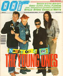 MAGAZINE-OOR-1985-nr-17-YOUNG-ONES-QUEEN-CHARLIE-WATTS-HUSKER-DU