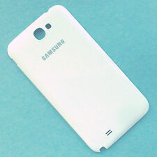 100% Genuine Samsung Galaxy Note 2 N7100 rear battery cover back white housing