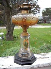 "Vintage Oil Kerosene Light Eagle Burner 13"" Tall"