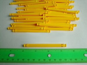 300 KNEX K/'Nex YELLOW CONNECTORS 5-Position Standard replacement Parts LOT
