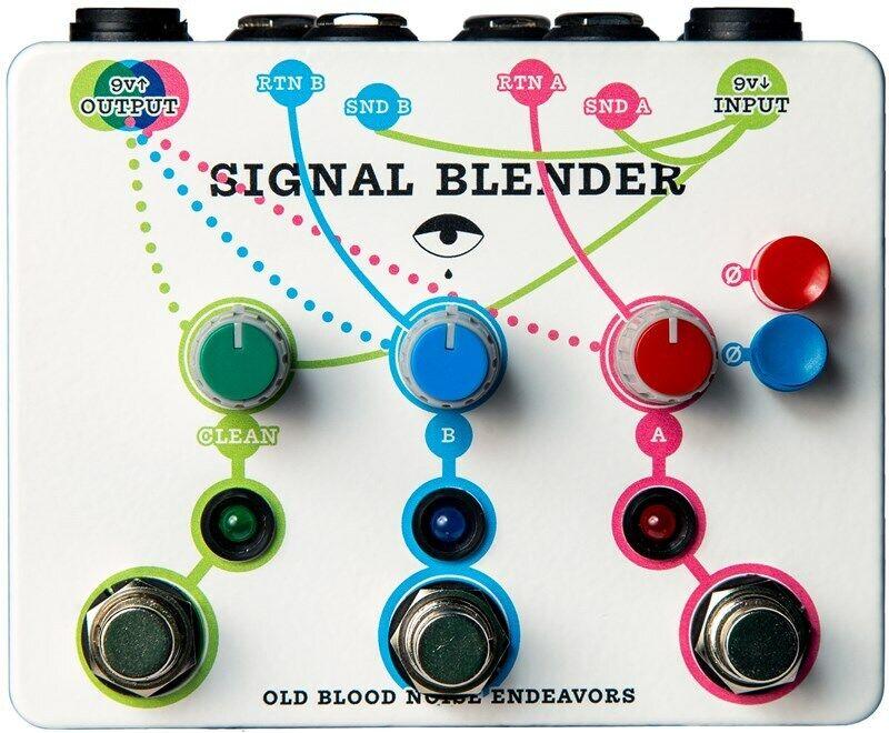 Old Blood Noise Signal Blender Pedal