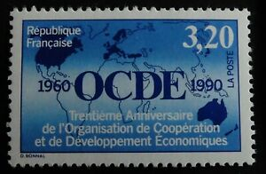 TIMBRE poste. FRANCE. N° 2673 . neuf. O.C.D.E.