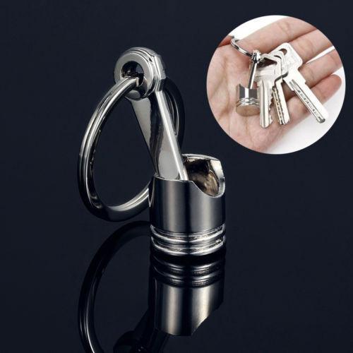 Aleacion Llaveros Llavero Coche Piston Keychain Schlüsselanhänger Keyring