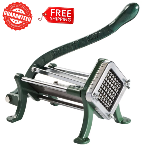 """Choice 1//4/"""" Potato French Fry Cutter With Suction Feet"""