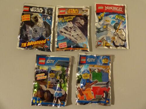 (d14) POLYBAG LEGO STAR WARS Nijago City NUOVO Sigillato TIE Advanced