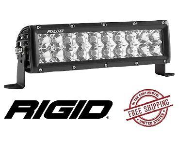 Rigid Industries 110322 E-Series Amber 10 Combo Spot//LED Flood Light Bar