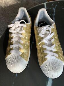 Details zu Adidas Schuhe Damen Gr. 39 Gold
