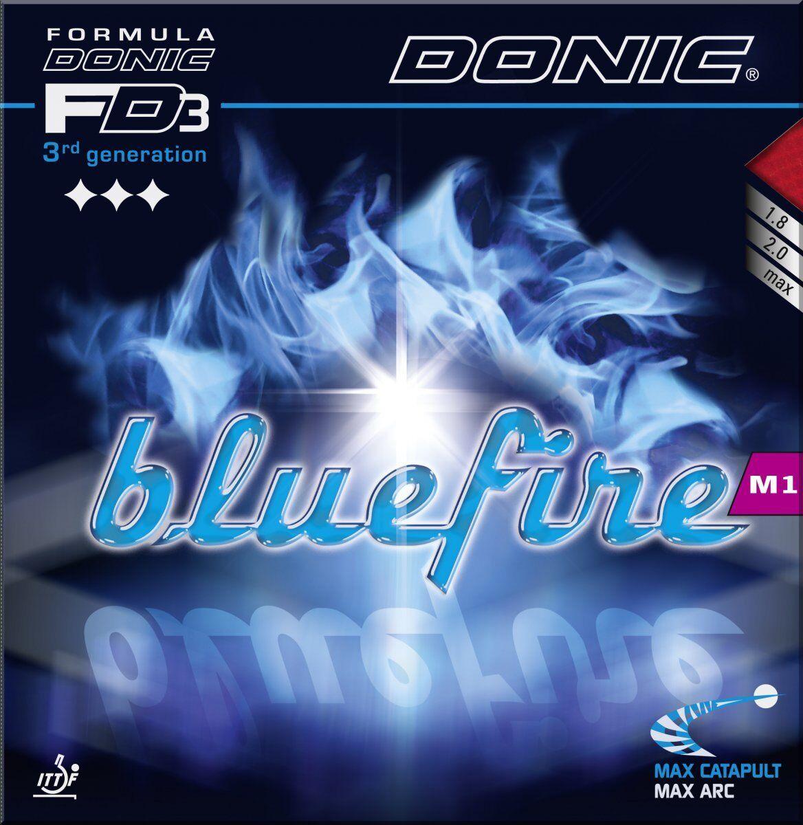 Donic Blaufire M1 M2 M3 1 8 8 8 2 0 Max mm    Schw Rot 9d3230