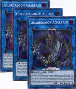 SAST-EN053 Super Rare Guardragon Agarpain Near Mint Unlimited Edition x3