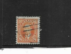 CANADA 1935. KING GEORGE V. 8 CENTS ORANGE. FINE  USED . AS PER SCAN