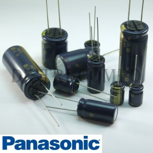 Radial electrolytic capacitor 16v panasonic 105 ° value choose FC low esr