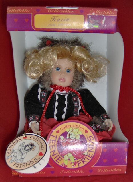 Teenie Friends Doll Karin of Norway