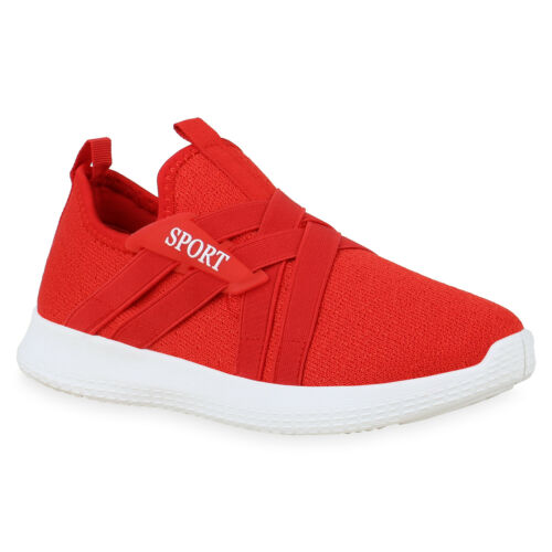 Damen Sportschuhe Slip On Sneaker Turnschuhe Fitness Schuhe 831040 Trendy Neu