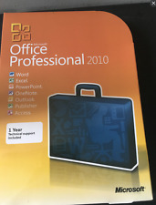 Microsoft Office Professional 2010 Full Retail Version Windows (for 3 PCs)!@